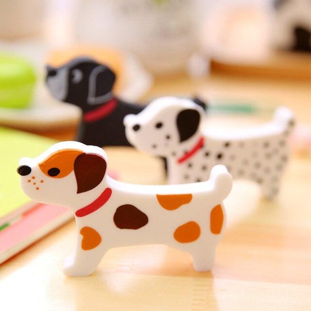 Aihao 1 Шт. Японский Милая Собака Животных Kawaii Карандаши Ластики Резина Для Детей Офис Школьные Принадлежности Канцелярские Игрушки Для Детей