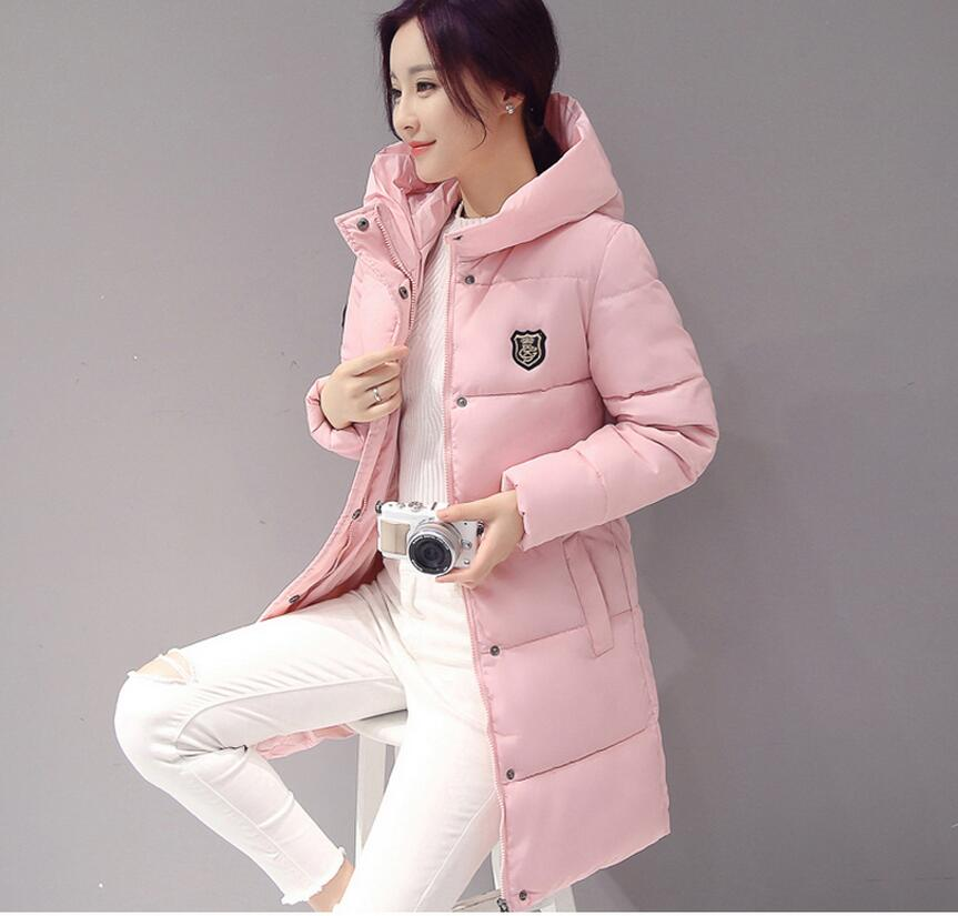 2017 winter coats new hooded cotton women   basic     jackets   coats coats in the long paragraph bread servicet cotton coat 620849
