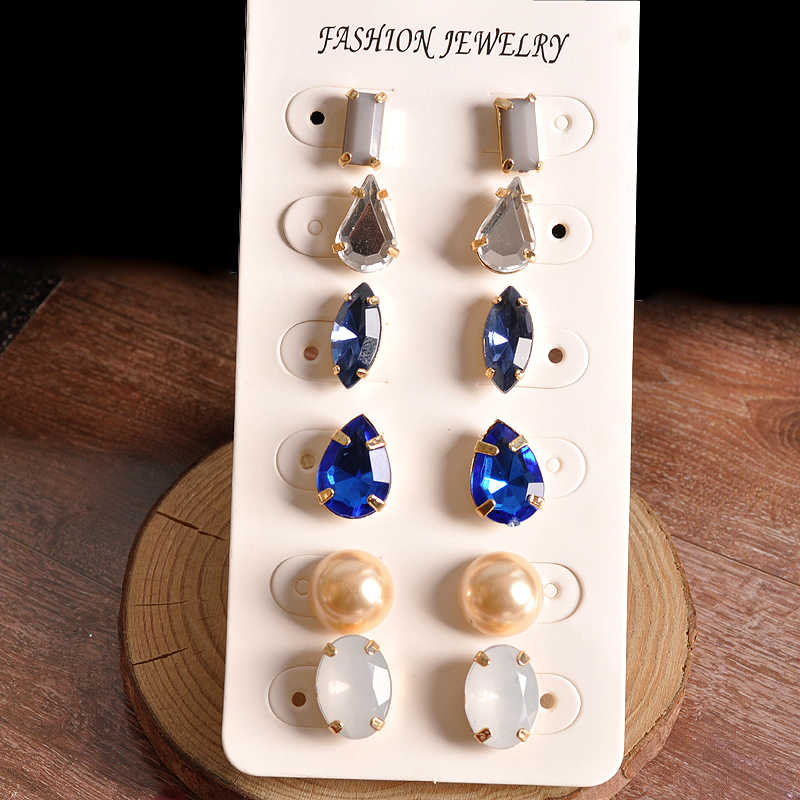 Hot fashion gorgeous women jewelry wholesale girl boy birthday party White Pearl Stud Earrings Earrings FREE SHIPPING