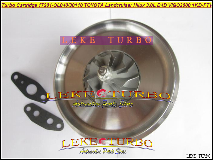 TURBO Cartridge CHRA CT16V 17201-0L040 17201-30110 172010L040 For TOYOTA Land Cruiser HILUX D4D ViIGO3000 1KD-FTV 3.0L 173HP