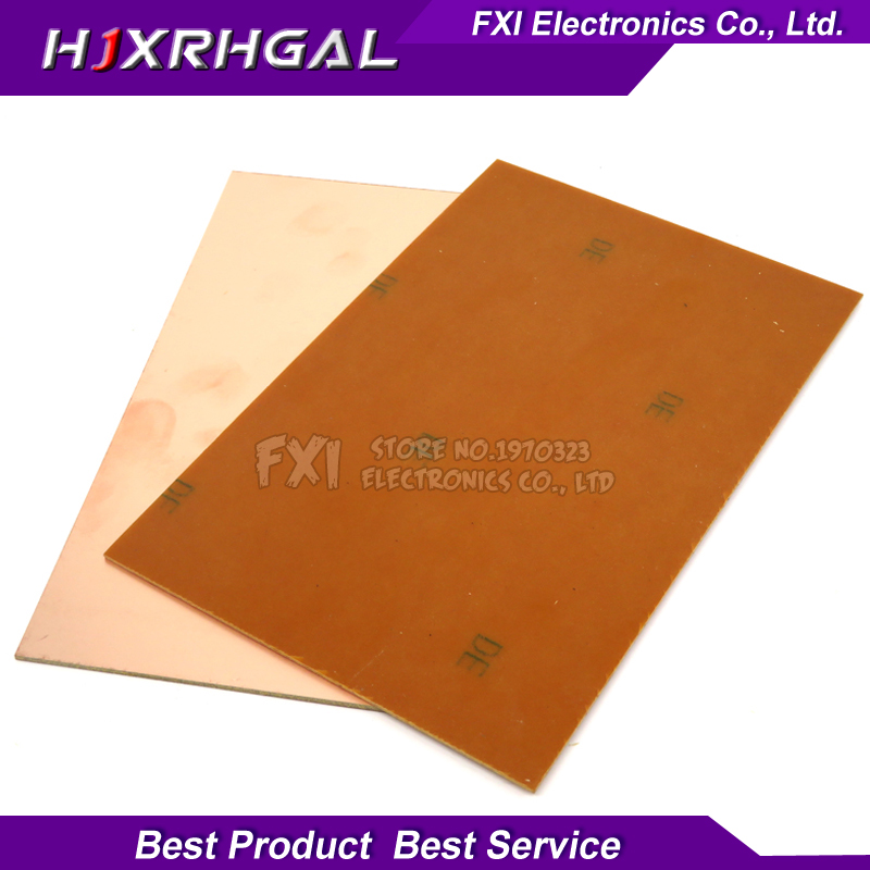 5pcs Pf Pcb 7*10 Single Side Copper Clad Plate Diy Pcb Kit Laminate Circuit Board 7x10cm With Traditional Methods Pcb & Pcba