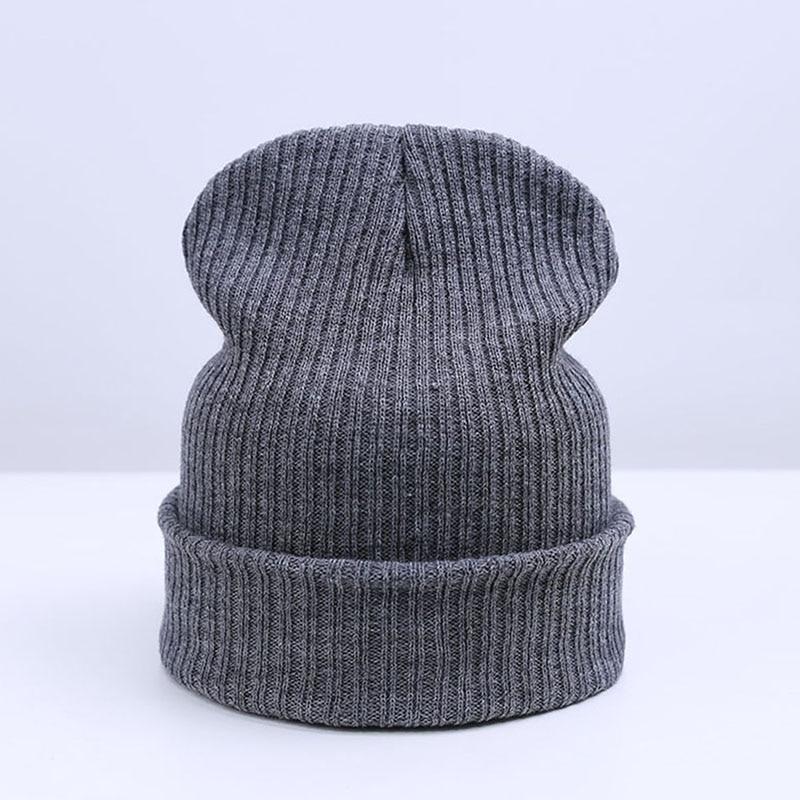 54a0f39c QUDDA Brand Winter Hat For Men Skullies Beanies Women Fashion Warm Cap  Unisex Elasticity Knit Beanie Hats Drop Shipping