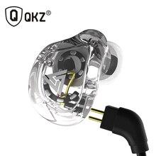 QKZ VK1 אוזניות עם 4DD באוזן אוזניות HIFI DJ בקרת תהליך ריצה ספורט Earplug אוזניות fone דה ouvidoauriculares audifonos