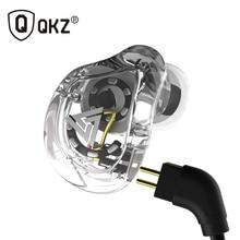 QKZ auriculares internos VK1 con 4DD, dispositivo HIFI para DJ, Monito, correr, deporte, con enchufe
