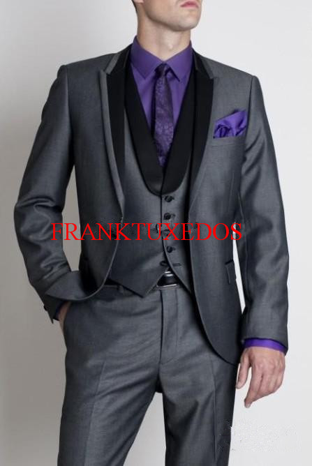 Us 66 8 2018 Custom Made Tuxedo Inspired By Suit Worn In James Bond Wedding Fashion Suit For Men Groom Jacket Pants Vest Tie In Suits From Men S