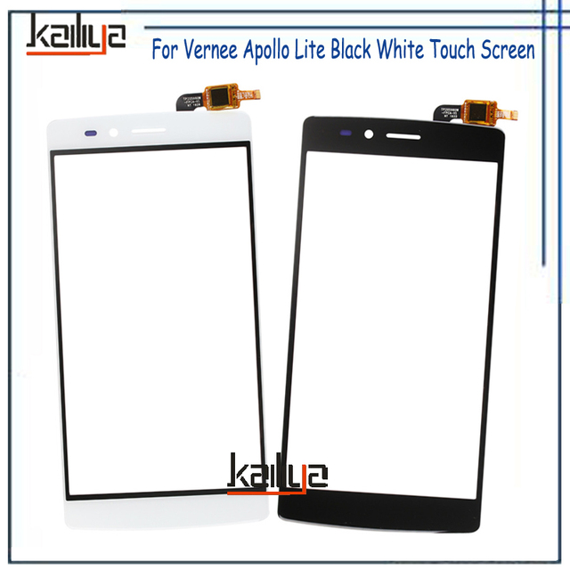 Touch Screen For Vernee Apollo Lite Digitizer Assembly Replacement Black White 5.5 inch Front Glass Sensor For Vernee