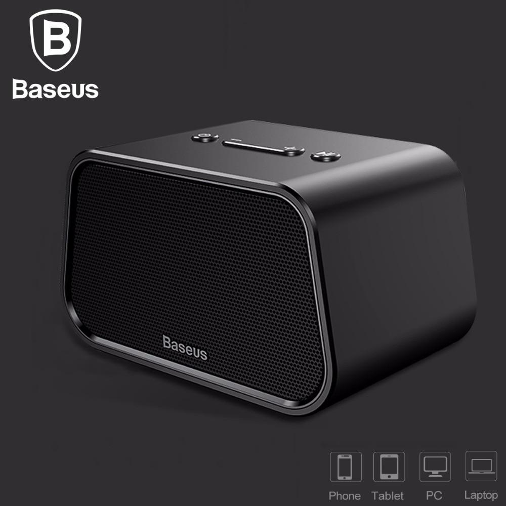 Baseus Wireless Bluetooth Speaker Portable Outdoor Mini Bluetooth Speaker For Phone Laptop 3d Stereo Music Surround Haut Speaker