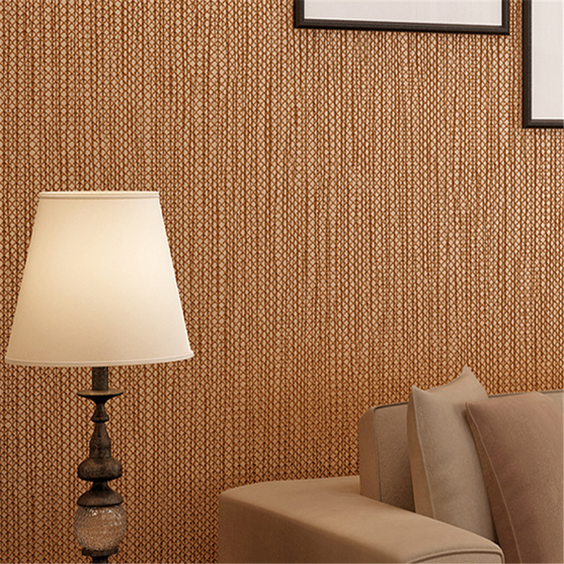 beibehang Simple Dark Coffee Non woven Wallpaper for Living Room Walls Wallpaper Rolls Papel De Parede 3D wall papers home decor beibehang non woven wallpaper rolls pink love stripes printed wall paper design for little girls room minimalist home decoration