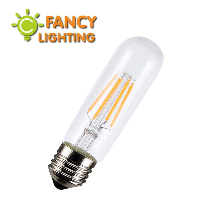 Led lamp E27 T10-125mm led tube light bulb 220V bombillas led for home/living room/bedroom/chandelier decor 2W/4W lampadas led