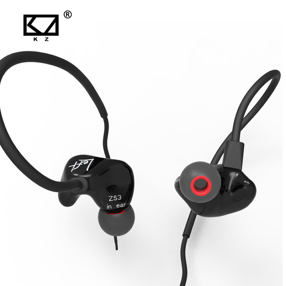 KZ zs3 Hifi Earphone Headset Headphones Metal Heavy Bass Sound With/Without Mic For Android/IOS Smartphone xiaomi iphone oppo PC kz edr1 in ear earphone 3d stereo bass with metal noise reduction earbuds for smartphone xiaomi iphone oppo pc with without mic