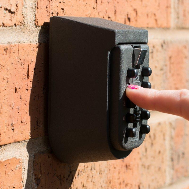 Rarelock Digit Wall Mount Key Storage Box Zinc Alloy With
