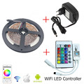 2016 Newest Mini RGB Wifi Controller With 24key IR Remote Controller +5M 10M 15M Iluminacion led SMD Non waterproof RGB Strip