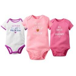 3pcs lot baby bodysuits 100 cotton letter print newborn infant boys girls jumpsuits spring summer jumpsuit.jpg 250x250
