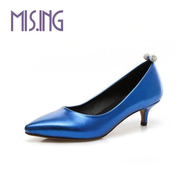 Vendas quentes mulheres sapatos de festa da moda Strass estilo mulheres bombas Slip-On Primavera/Outono senhora do escritório sapatos Apontou Toe sapatos de trabalho