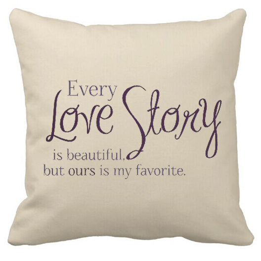 Valentine Anniversary Gifts Love Quote Cushion Cover Every Love
