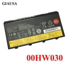 96WH 00HW030 bateria Do Portátil para Lenovo thinkpad SB10F46468 P70 P71 P72 78 ++ bateria