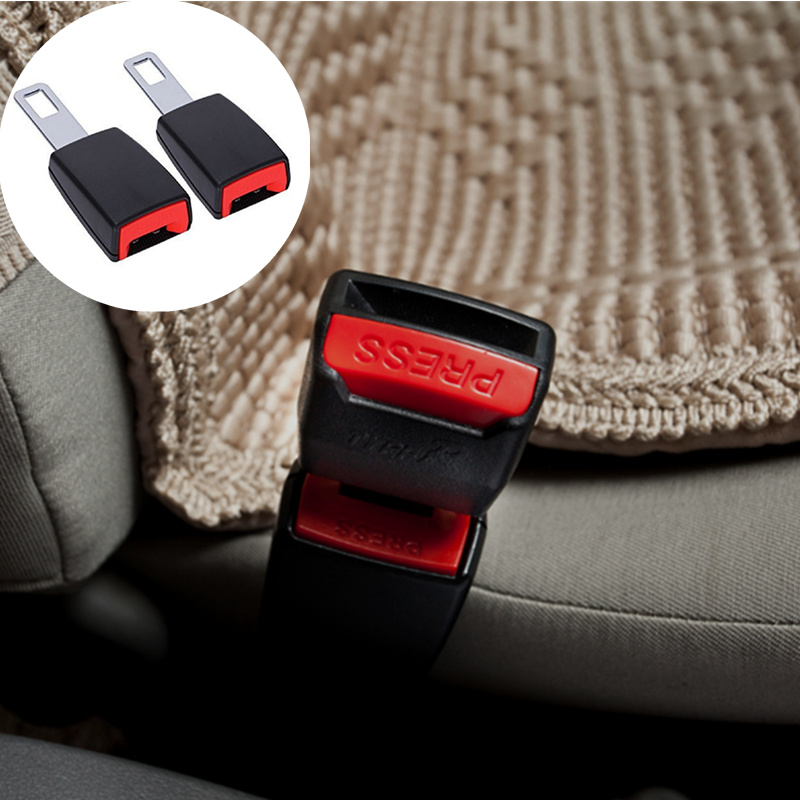 Adroit 1pcs Universal Car Safety Belt Clip Extender Auto Accessories For Fiat Panda Bravo Punto Linea Croma 500 595 Good For Antipyretic And Throat Soother