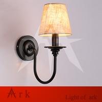 ARK LIGHT North American Modern Minimalist Fashion Bedroom Bedside Led Wall Lamp Linen Aisle Project Wall