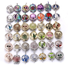 Necklace Perfume Lockets Pendant Aroma-Diffuser Essential-Oil Vintage with Pads 1pcs