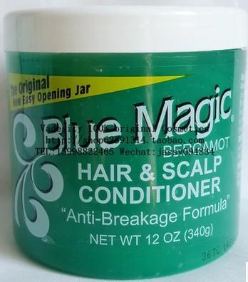 Blue Magic Hair & Scalp conditioner /340g magic hair 2015 gorra unprocesseds from16 18 20 22 24 magic 100