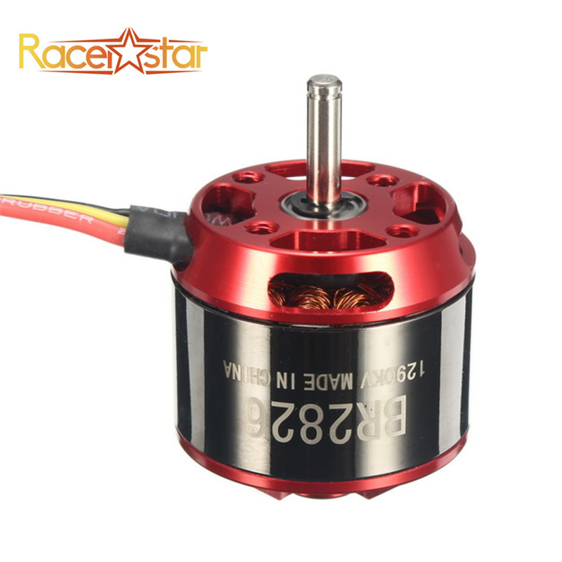 цена на Original Racerstar BR2826 1290KV 2-4S Brushless Motor For RC Models Airplane Remote Control Toys Helicopter Spare Part
