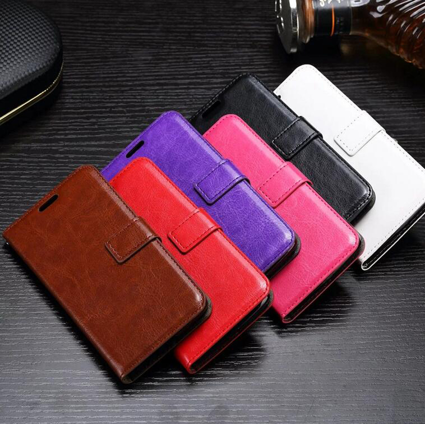 For Motorola for Moto G5 X3 G3 X G4 play E Z C G5s G6 plus play Retro Flip Wallet Leather Phone Cover Case With Card Holder