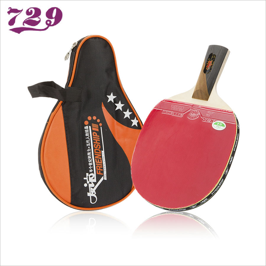 Friendship 729 Original 4 Star Table Tennis Racket with Rubber +1 Bag Set Ping Pong Bat Tenis De Mesa стоимость