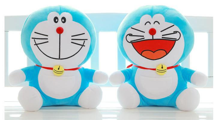 New fashion 30CM cute Doraemon plush toy good quality pp cotton Particularly lovely toy