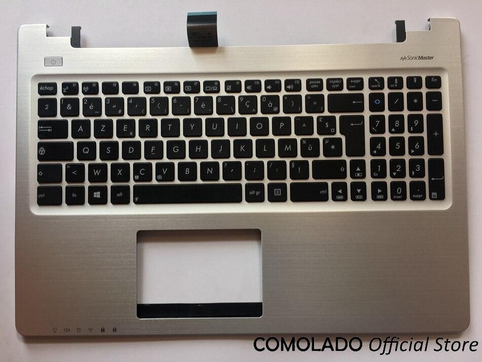 FR French Keyboard for ASUS K56 K56C K56CA K56CM FR AZERTY Layout laptop keyboad Palmrest Upper