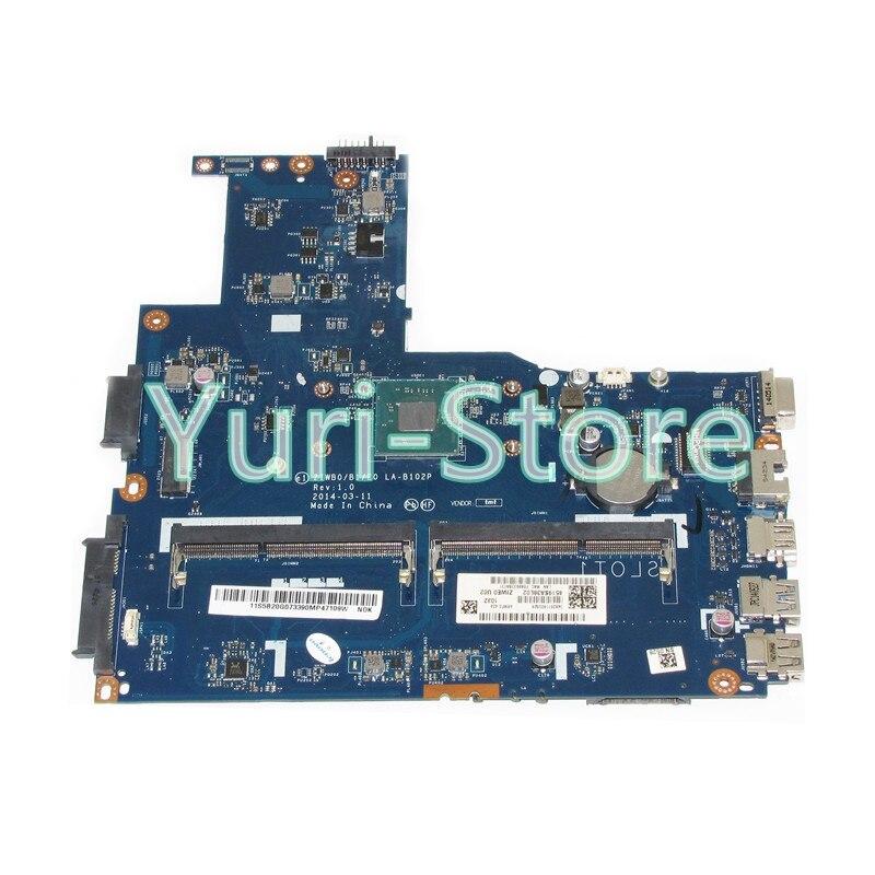 NOKOTION ZIWB0/B1/E0 LA-B102P For Lenovo B40 B40-30 Laptop Main Board 14 Inch N3520 CPU DDR3 815248 501 main board for hp 15 ac 15 ac505tu sr29h laptop motherboard abq52 la c811p uma celeron n3050 cpu 1 6 ghz ddr3