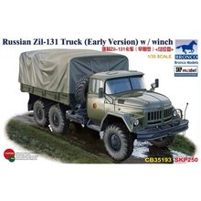 BRONCO CB35193 1/35 русский Zil-131Truck(ранняя версия) w/лебедка масштаб модель комплект