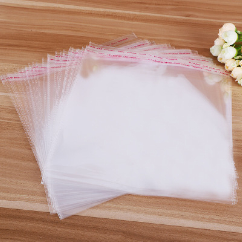 Transparent Self-adhesive Jewelry Bag Self Sealing Small Plastic Bags For Candy Packing Resealable Packaging Gift Bag