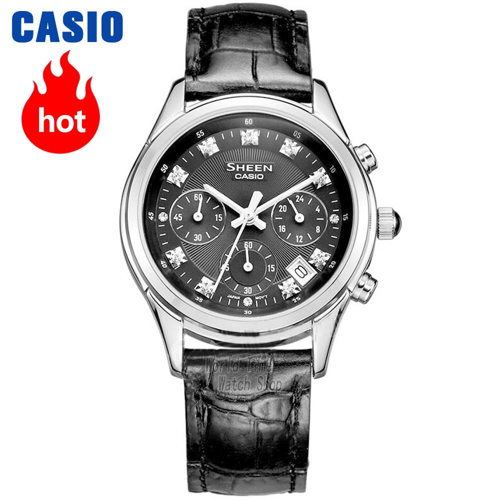Casio wacth fashion business pointer ladies watch SHE-5023GL-7B SHE-5023L-1A SHE-5023L-7A casio watch fashion trend ms quartz watch she 4048pgl 6a