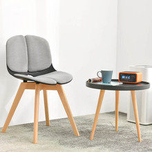 Modern home solid wood restaurant applicable dining chair Chinese carpenter birch craft restaurant study bedroom office chair