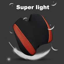 ICAROOM Car Seat Back Support Pad Home Office Milk Silk Fabric Waist Cushion Space Cotton Pillow With Zipper Multi-color Hot
