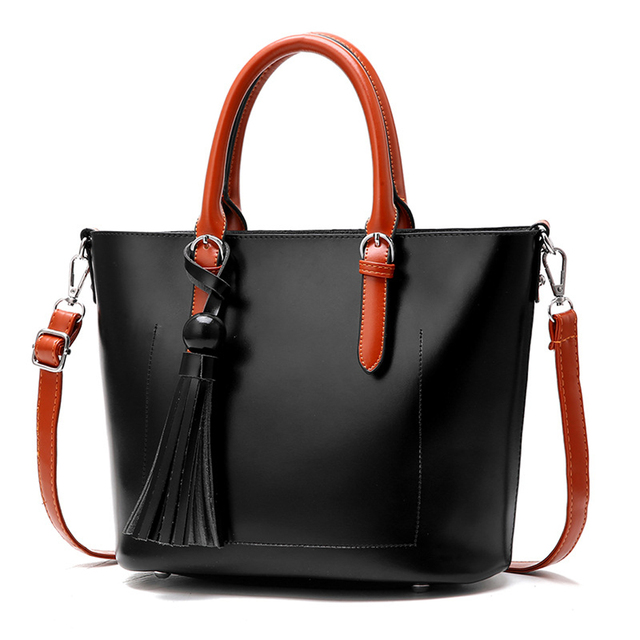 Sfg House Casual Women Pu Leather Tote Bags S Crossbody Messenger Female Office Zipper Shoulder