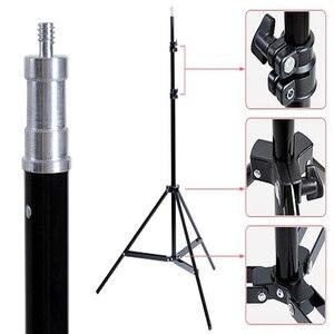 Image 5 - Штатив Godox SN302 для студийсветильник фотосъемки, стробоскоп с непрерывным освесветильник ением, 2 шт., 190 см, 6 футов