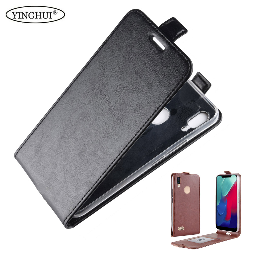 For Leagoo M11 Luxury PU Leather Case For Leagoo M11 Flip Protective Phone Shell Back Cover