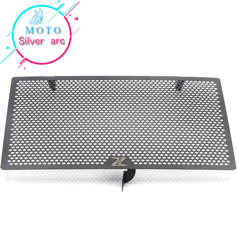 Black For Kawasaki Z800 Z1000 Z1000SX Z750 Motorbike Radiator Grille Guard Cover Protector