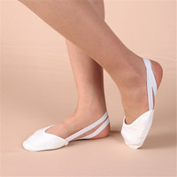Newest Indoor Dancing Ballet Dance Shoes Two Colors Half Shoes Artistic Gymnastics Gym Fitness Shoe With