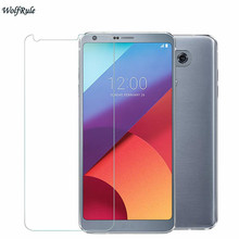 2 Pieces For LG G6 Tempered Glass Screen Protector Film For LG G6 Premium Phone Protective Film For LG G6 5.7 inch protective clear screen protector film for lg nexus 5 e980 transparent 10 pcs