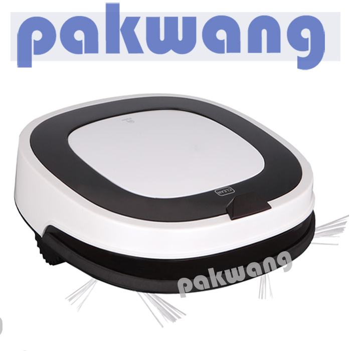2017 New white vacuum robot D5501 Intelligent Robot Vacuum Cleaner for Home, HEPA Filter,Cliff Sensor,Remote control Self Charge