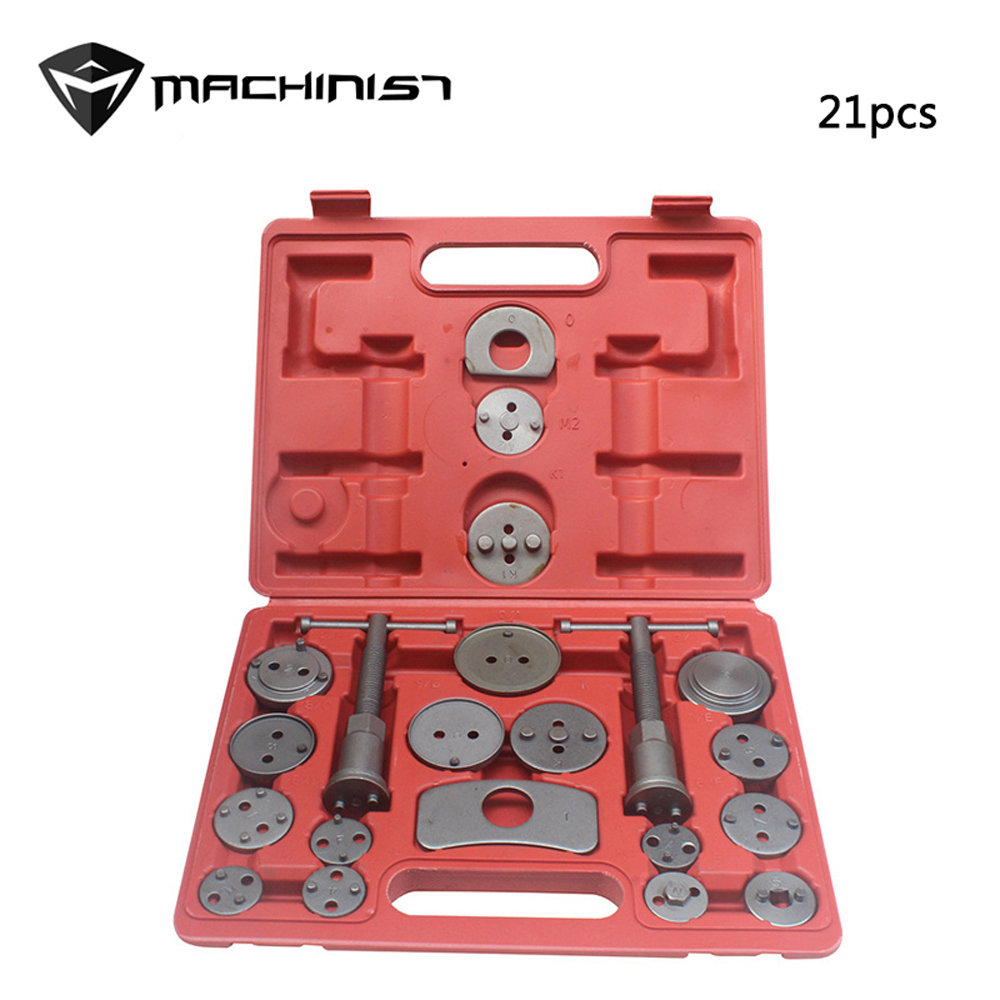 Universal Car Auto Disc Brake Pad Caliper regulator Rewind tool Wind Back Tool Kit Brake Pump Piston Adjustment Repair Tool 2 pair universal car 3d style disc brake caliper covers front rear