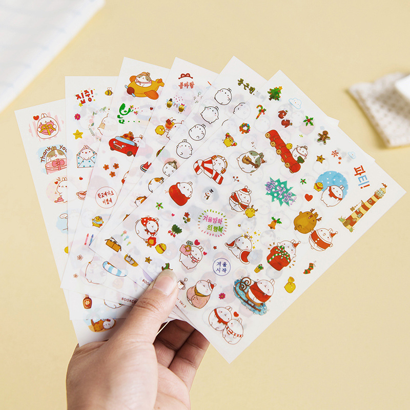 51 Pcs Anime Naruto Ninja PVC Stickers DIY Scrapbooking Craft Gift Decor