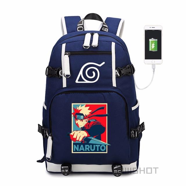 Naruto Sasuke Backpack
