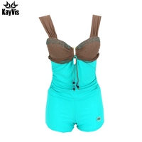 One Piece Swimsuit Sexy Backless Swimwear Female Solid Bathing Suit Vintage Beach Wear Padded Swimwear Beachwear
