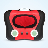 Kneading & rolling Electric massage pillow neck shoulder massage back cushion for full body use