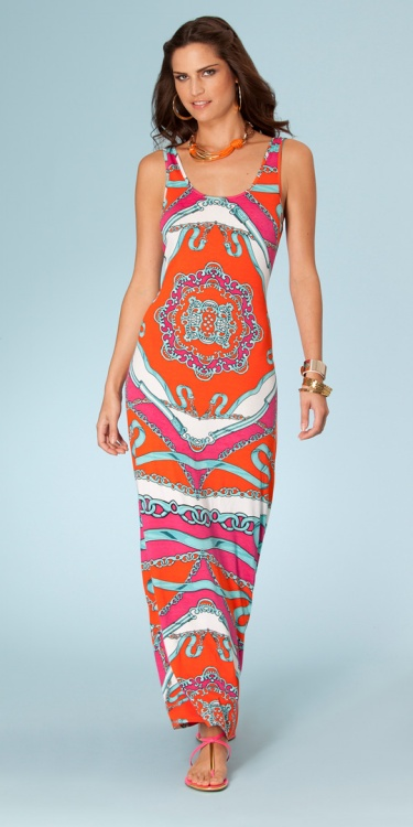 Limited New Silk Dresses Winter Dress Fashion Sleeveless Vest Dress Mopping The Floor Print Slim Elastic