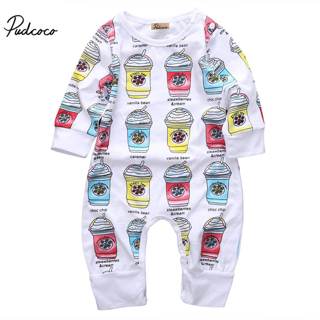 Aliexpress Com Buy 0 24m Unisex Baby Clothes Baby Boy Girl Footed