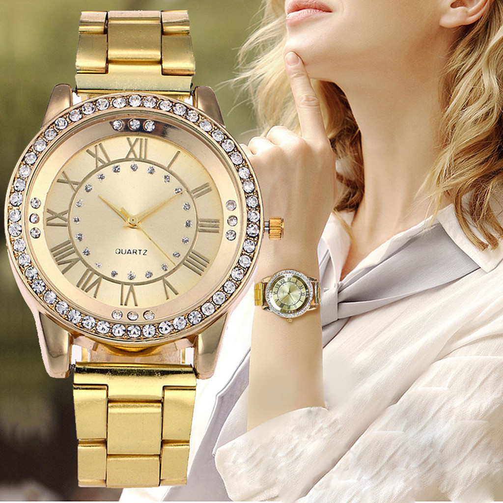 Luxury Women Watches Fashion Rose Gold Silver Ladies Watch For Women Bayan Kol Saati Reloj Mujer Saat Relogio Zegarek Damski